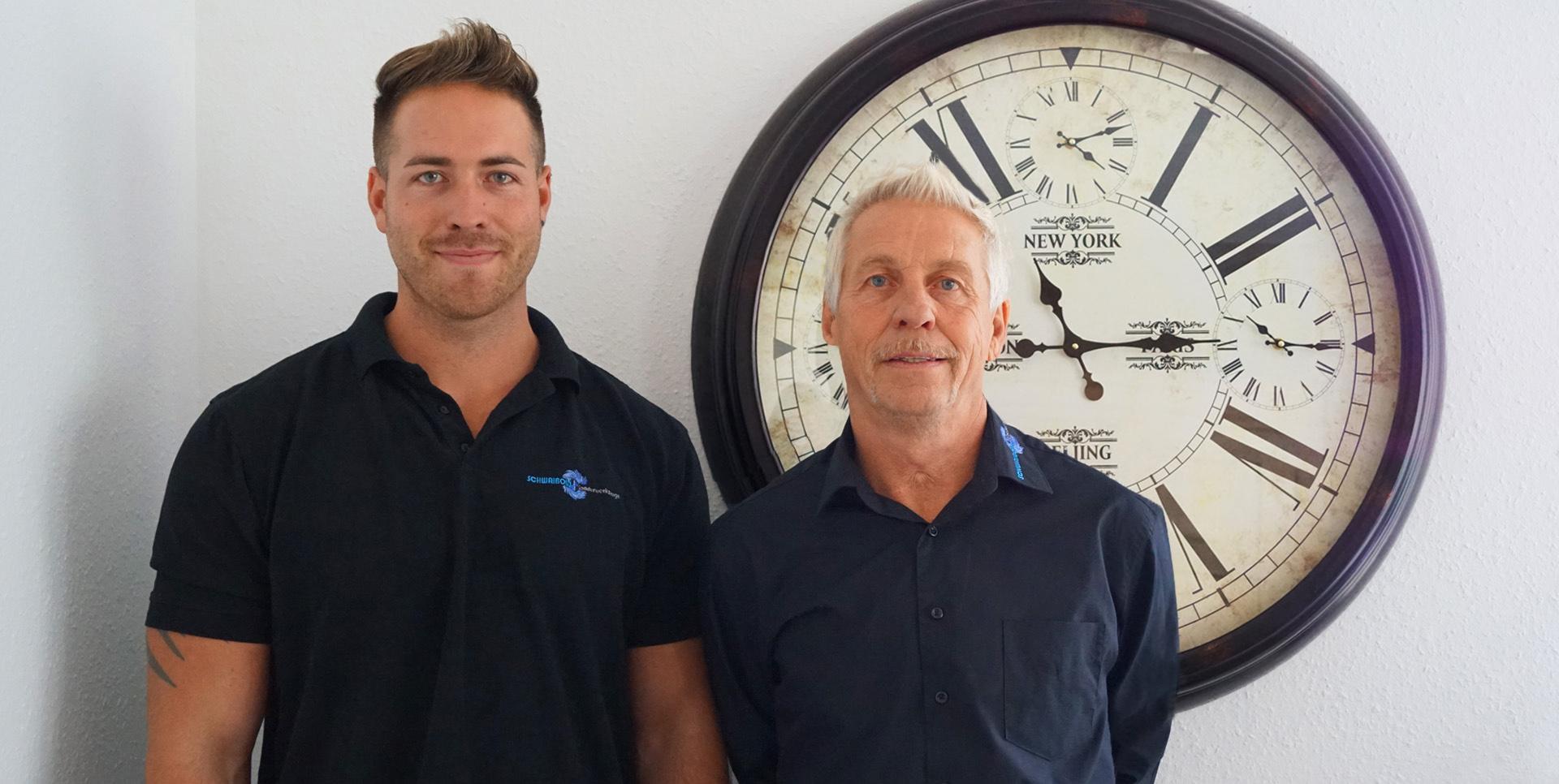 Schwaibold Sonderwerkzeuge - Geschäftsführer Wolfgang und Chris Schwaibold